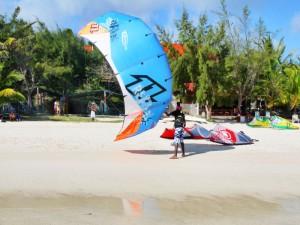 kitesurf ile rodrigues